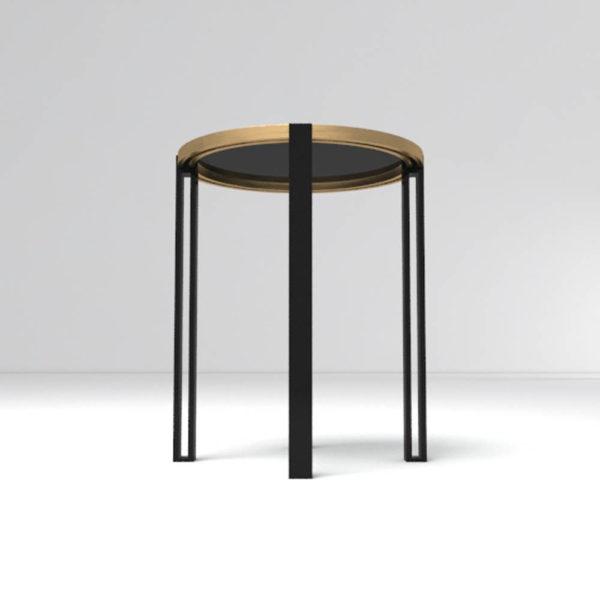 Globe Side Table Down