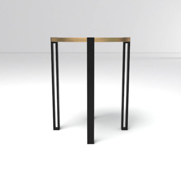 Globe Side Table Front