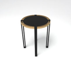 Globe Side Table Top