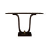 Judy Brown Console Table with Curved Legs 1