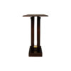 Judy Brown Console Table with Curved Legs 3