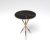 Julia Wooden Round Side Table UK 7