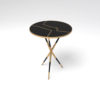 Julia Wooden Round Side Table UK 2