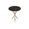 Julia Wooden Round Side Table UK 1
