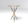 Julia Wooden Round Side Table UK 3