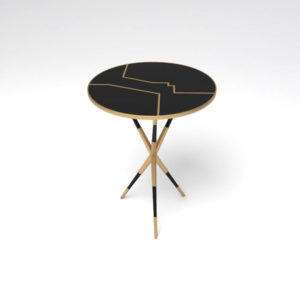 Julia Wooden Round Side Table Uk