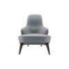 Kabeer Upholstered High Back Winged Armchair 1