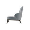 Kabeer Upholstered High Back Winged Armchair 3