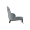 Kabeer Upholstered High Back Winged Armchair 2