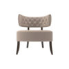 Kathy Upholstered Winged Tufted Accent Chair 1