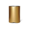 Kitel Gold Glass Top Round Side Table 4
