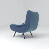 Kohan Upholstered High Back Armchair 4