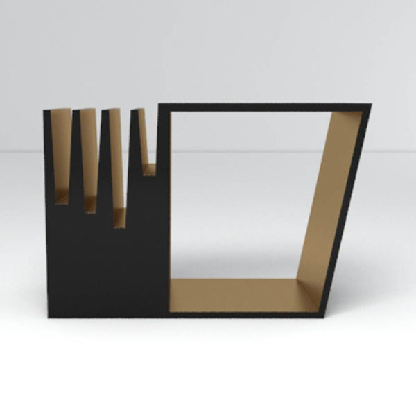 Leila Side Table Front