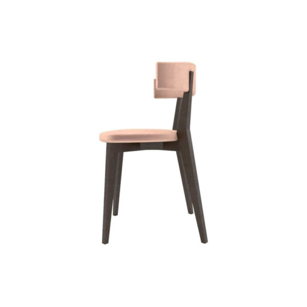 Libby Upholstered Carver Dining Chair Left Side View