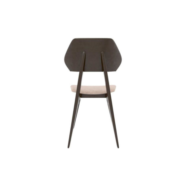 Lorna Upholstered Wing Dining Chair Back