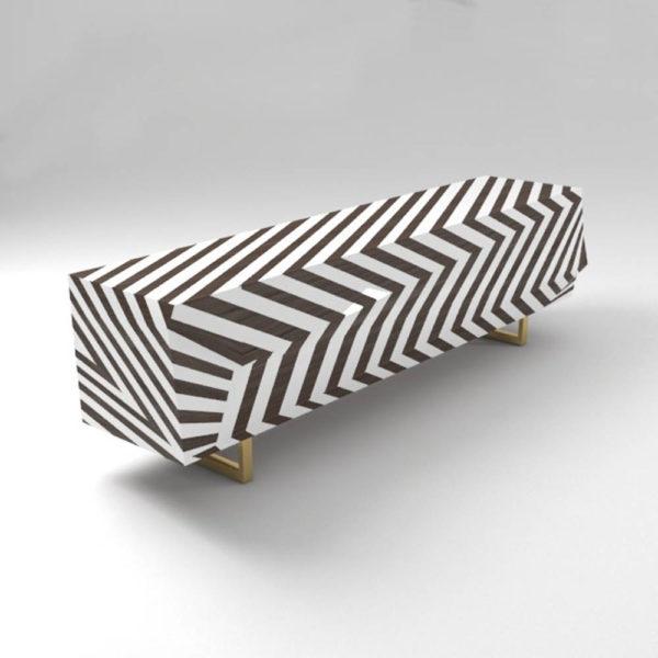 Mira Side Cabinet Stripes UK