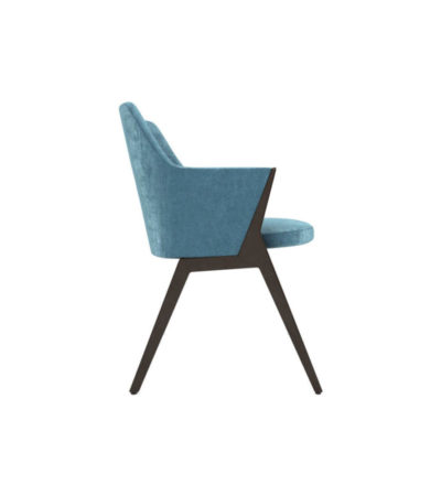 Monica Armchair Right Side View