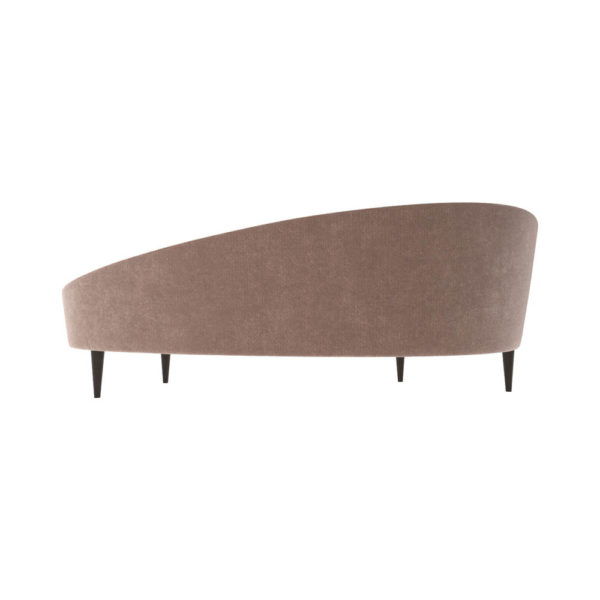 Nadine Upholstered with Curve Sofa Back