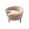 Nadine Upholstered with Curve Sofa 2