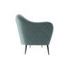 Nisha Upholstered Striped Low Back 2 Seater Sofa 2