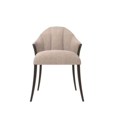 Peacock Upholstered Slope Arm Dining Chair