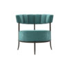 Renata Upholstered Round Back Accent Chair 1