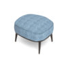 Roman Upholstered Square Pouf with Legs 2