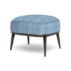 Roman Upholstered Square Pouf with Legs 4