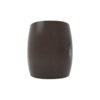 Ronald Upholstered Round Armchair with Wooden Frame 4