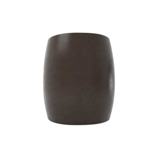 Ronald Upholstered Round Armchair with Wooden Frame Back