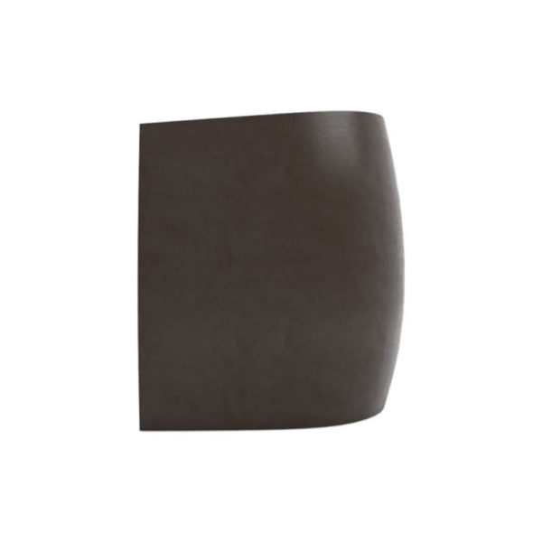 Ronald Upholstered Round Armchair with Wooden Frame Left
