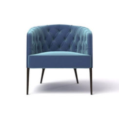 Saga Upholstered Tup Tufted Armchair
