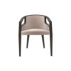 Sallivan Upholstered Tub Dining Chair with Wooden Frame 1