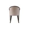 Sallivan Upholstered Tub Dining Chair with Wooden Frame 4