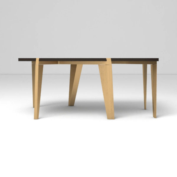 Salto Coffee Table Beside View