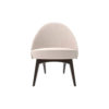 Sam Upholstered Curved Accent Living Room Chair 1