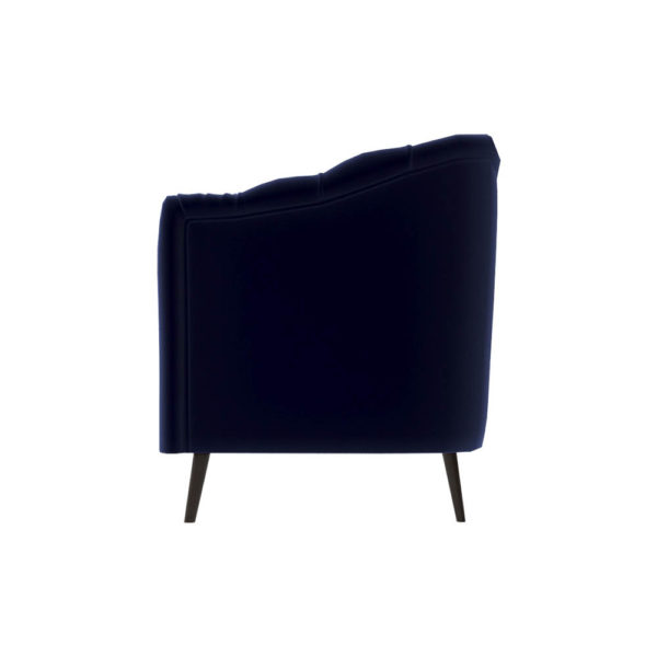 Samantha Upholstered Low Back Tufted Sofa Left