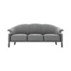 Santiago Upholstered 3 Seater Curved Sofa 1