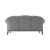 Santiago Upholstered 3 Seater Curved Sofa 4