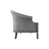 Santiago Upholstered 3 Seater Curved Sofa 2