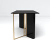 Santini Wooden with Stainless Steel Console Table 4