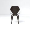 Scorpio Upholstered Winged with Wood Leg Dining Chair 5