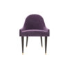 Sentino Upholstered Sloop Arm Accent Chair 1