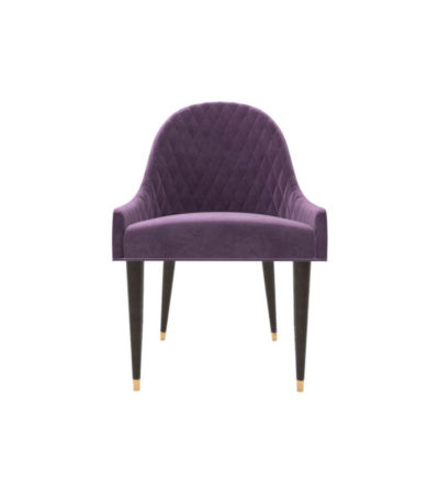 Sentino Upholstered Sloop Arm Accent Chair