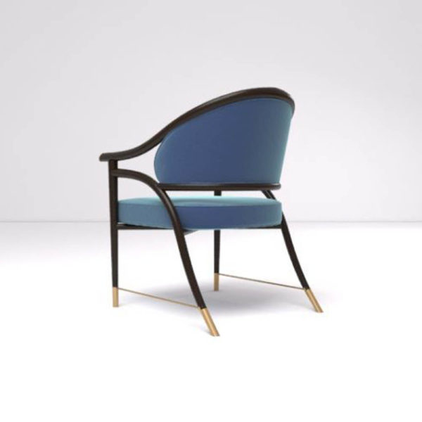 Sonet Armchair Back Side View