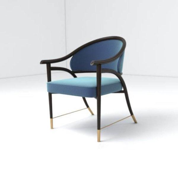 Sonet Armchair Left Side View