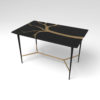 Tree Wooden and Metal Console Table 6