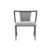 Zaria Upholstered Dining Chair with Armrest 1
