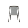 Zaria Upholstered Dining Chair with Armrest 4