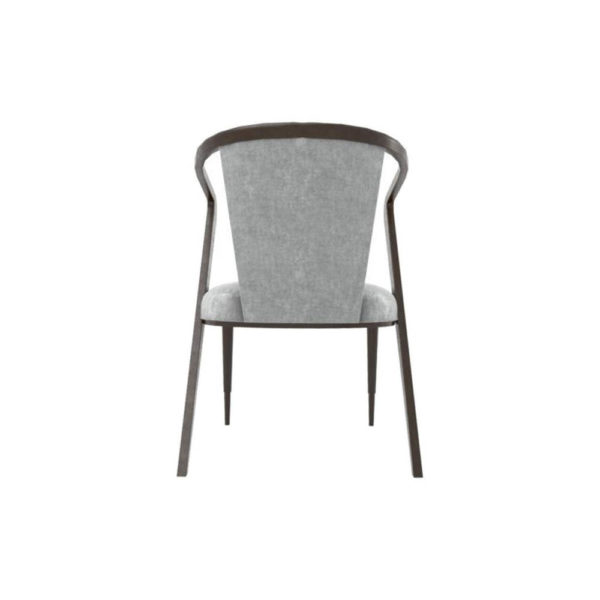 Zaria Upholstered Dining Chair with Armrest Back
